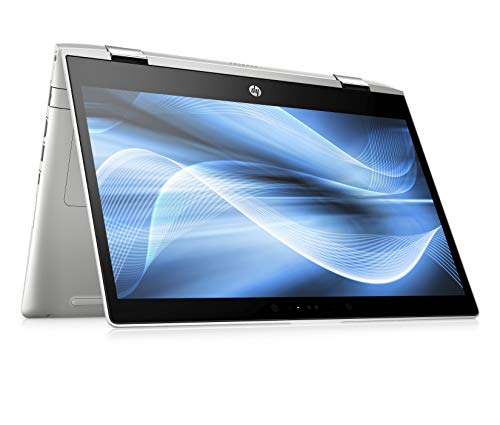 HP Probook x360 440 G1 5JJ77ES 35,5 cm (14 Zoll / FHD) Convertible Notebook (Intel Core i5-8250U, 8GB RAM, 256GB SSD, NVIDIA GeForce MX130, Fingerabdrucksensor, Win 10 Professional) schwarz/silber