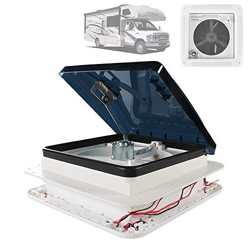 HZGrille 12V Universal Rv Wohnmobil Stumm Dach Kühlung Anh nger Abluft Ventilator Wohnwagen Effektive Decken Befestigung Belüftung