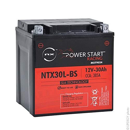 NX - Batteria moto AGM NTX30L-BS 12V 30Ah - ETX30L-BS;ETX30LBS;GTX30L-BS;GTX30LB