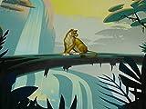 Der König der Löwen Jersey, Panel, Sarabi, Dschungel (60