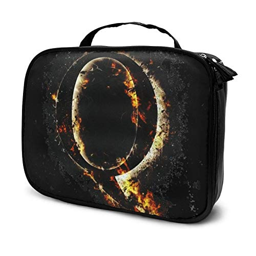 The QA Feud Makeup Bag Cosmetic Organizer Toiletry Beauty Case Travel Pouch