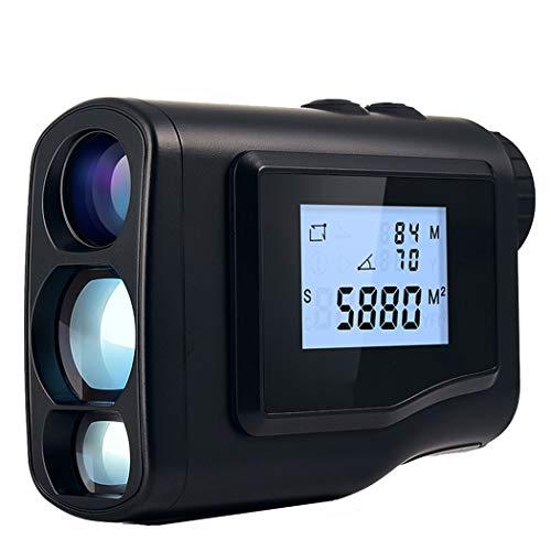 JAY-LONG 1500M Golf Rangefinder Laser Range Finder Tool para Caza Medidor De Distancia Láser Monocular con Velocidad De Escaneo 6X Óptica De Medición