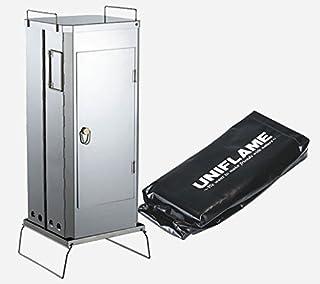 ユニフレーム(UNIFLAME)フォールディングスモーカーFS-600 ケースセット(665916+665947)