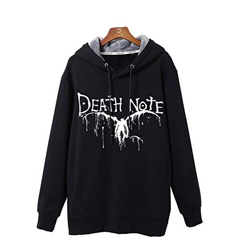 Gumstyle Anime Death Note Hoodie Sweatshirt Autumn Winter Adult Cosplay Pullovers 1-M