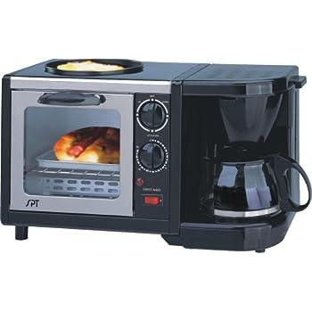 SUNPENTOWN BM-1107 - Máquina para desayunar (3 en 1)