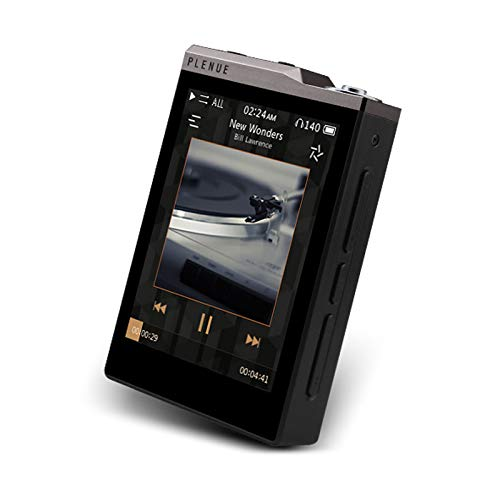Cowon PLENUE D2 Doppel CS43131 24bit/192kHz DSD128 DAC 2.5mm Balanced Output Tragbar HiFi Audio Musikplayer (Silber Schwarz)