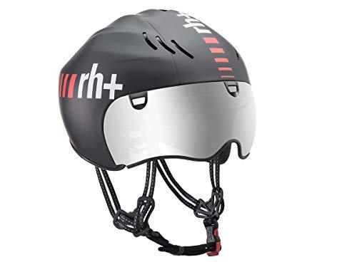 RH+ - Casco de Bicicleta Z Crono Matt Black XS/M, Unisex para...