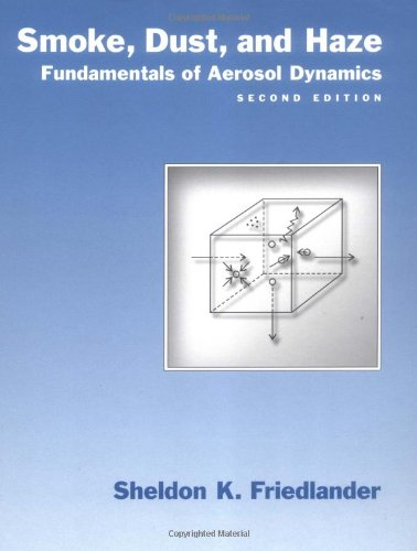 Download Smoke, Dust, and Haze: Fundamentals of Aerosol Dynamics (Topics in Chemical Engineering) 0195129997