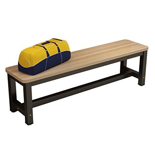 Sillas de comedor de jardín Banco de mesa de comedor de madera maciza de jardín sólido - Cocina de madera Silla de comedor Silla de banco Pasillo Entrada Patio de ocio Asiento de patio (se pueden sel