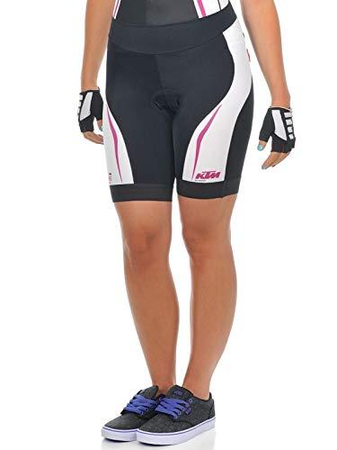 KTM Damen Shorts MTB Factory Lady Schwarz Weiß Violett – XXL