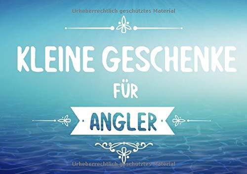 Kleine Geschenke für Angler: Buch (blanko) als Geschenk für's Angeln, Fische, Aquarium, zum selbst gestalten (Geschenkidee)