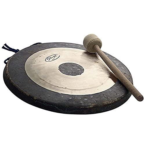 Stagg 25011269 TTG-20 Tam Tam Gong - Platillo tipo gong con mazo de tela (50 cm / 20')