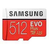 Samsung 256GB MicroSD EVO Plus Series 100MB/s (U3) Micro SDXC Memory Card with Adapter MB-MC256GA (1 Pack)