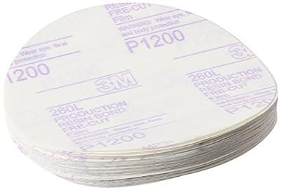 3M Stikit Finishing Film Abrasive Disc 260L, 01318, 6 in, P1200, 100 discs per carton