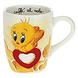 THUN - Tazza Colazione Titti - Mug per tè, caffè, Tisana, Latte e Ciocolata Calda - Linea Titti e Silvestro, Warner Bros - Porcellana - 420 ml