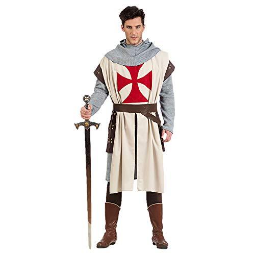 Limit Sport- Caballero Medieval Templario, Multicolor, M (MA965)