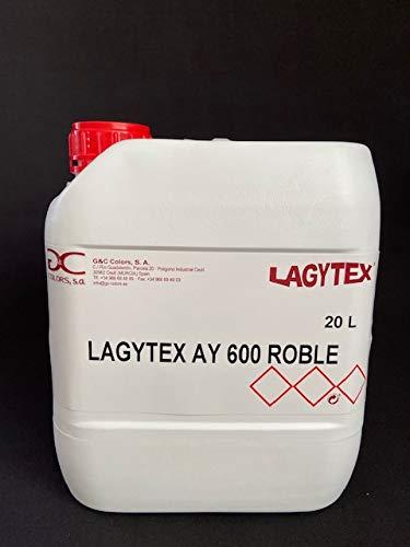 LAGYTEX AY SERIE 600. Recubrimiento semitransparente de acabado imitación madera/piedra. Para superficies cementosas, hormigón impreso, hormigón efecto madera (WENGUE)