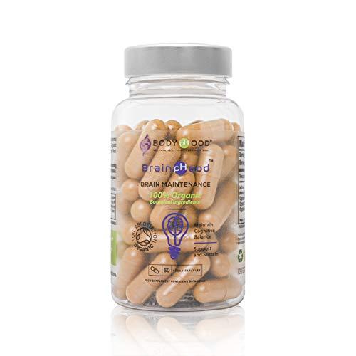 100% Vegan and Organic Multi Mineral for Daily Wellness - Turmeric, Reishi Mushroom, Burdock Root & Kelp for Brain, Joint & Immune Support - Made in The UK