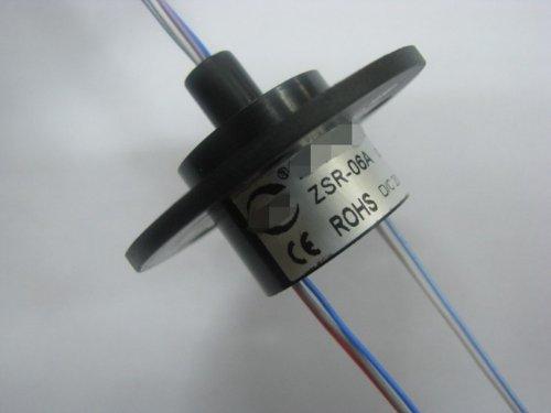 Mini Capsule Schleifring 300 min-6-Wege-22mm 2A 360 ° Rotation AWG28