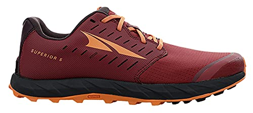 ALTRA Women's AL0A5483 Superior 5 Trail Running Shoe, Maroon - 10 M US