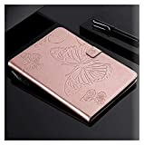 Accesorios de pestañas para Samsung Galaxy Tab a 10.1 Pulgadas de, Funda Funda Tablet PU Cuero de Cuero de la Cubierta de la Cubierta de la Cubierta para Samsung Galaxy Tab (Color : Rose Gold)