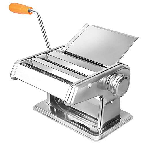 Mondo di sapori di acciaio inox Pasta Maker Machine-Rosso-Italiano Deluxe