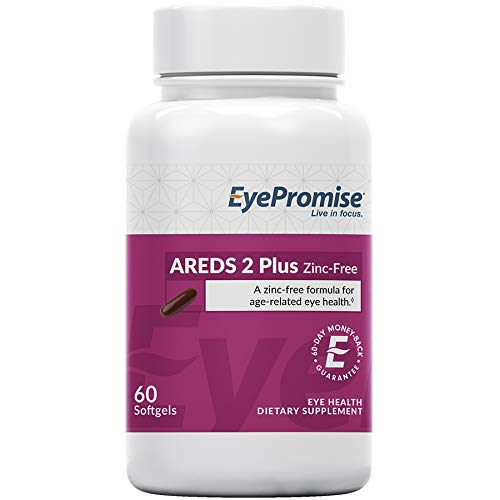 EyePromise AREDS 2 Plus Zinc Free - A Zinc-Free Comprehensive Macular...