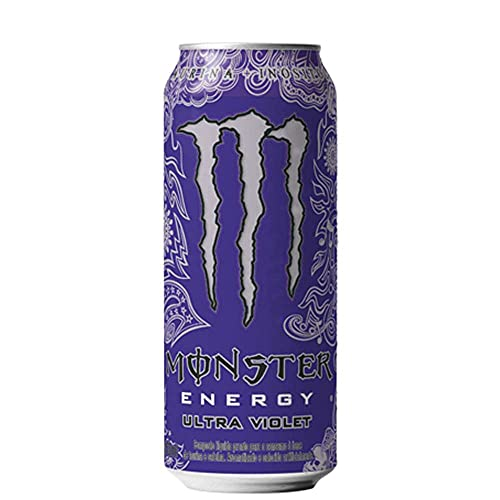 Energético Monster Energy Ultra Violet Lata 473ml