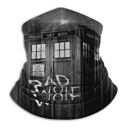 Bad Wolf Doctor Who - Braguitas de microfibra para cuello para hombre y mujer