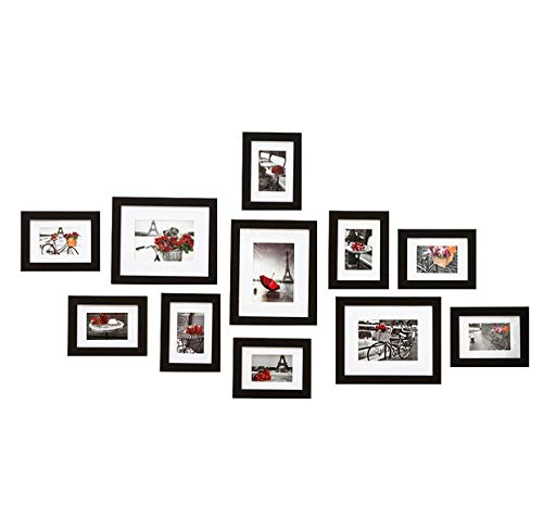 Muzilife Collage Marco de Fotos 11Pcs con Passepartout Moder