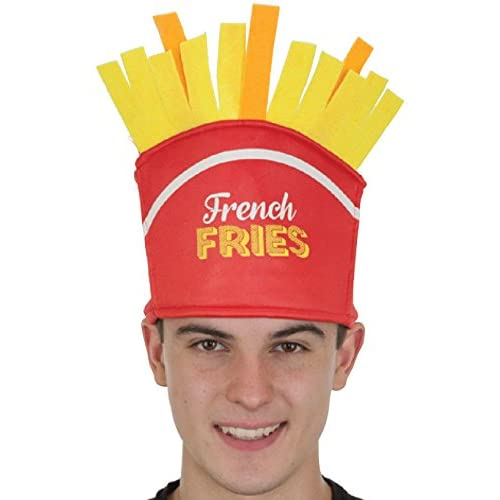 Jacobson Hat Company French Fries Novelty Food Hat b8cc39712b2