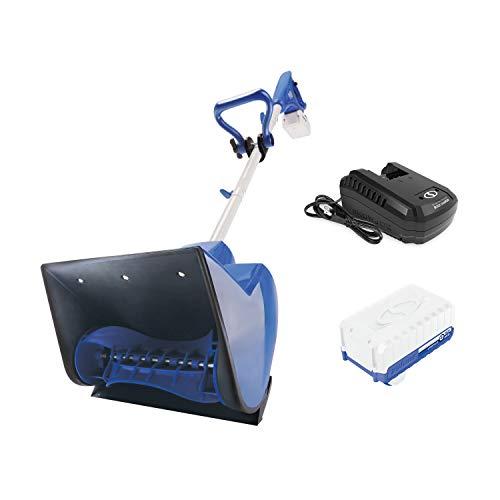 Snow Joe 24V-SS11 24-Volt iON+ Cordless Snow Shovel Kit | 11-Inch | W/ 4.0-Ah Battery and Charger