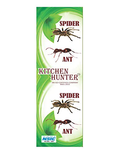 KE MIRACLE INSECTS Kitchen Hunter -ANT Repellent (Green and White)