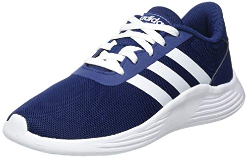 adidas Lite Racer 2.0, Sneaker, Dark Blue/Footwear White/Core Black, 37 1/3 EU
