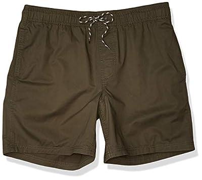 "Amazon Essentials Men's 6"" Inseam Drawstring Walk Short, Olive, X-Large"