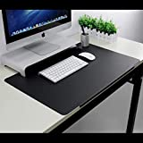 Extra Large 27.5x17.7' TPU Desk Mat Mouse Pad Ultra-Smooth Writing Pad Desk Protector Protective Table Organizer for Desktops and Laptops