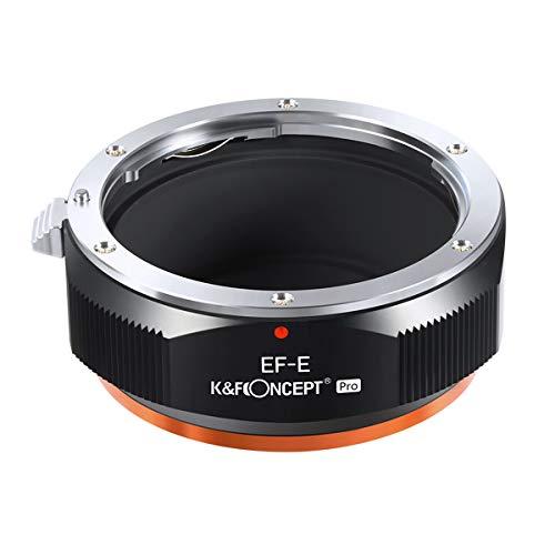 K&F Concept レンズマウントアダプター Pシリーズ KF-EFE.P (キヤノンEFマウントレンズ → ソニーEマウント変換)