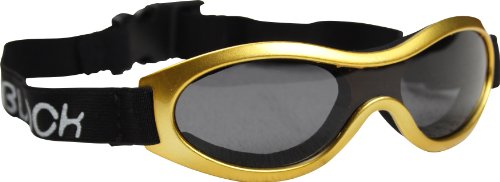 Zunblock Zunblock Kinder 8040591 Wrap Sonnenbrille, Yellow