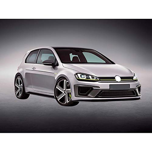 Komplettbausatz Golf VII 3/5-türer 2012- 'R400-Look' inkl. Grills (PP)