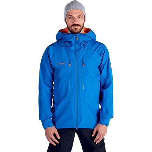 Mammut Nordwand Advanced HS Hooded Jacket - Men's Ice, XXL