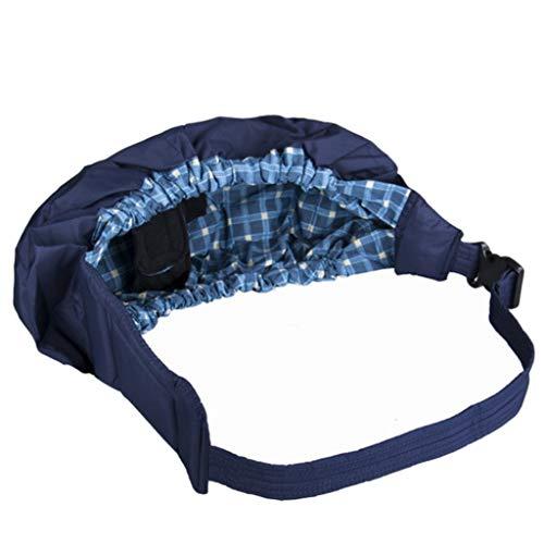 XUANLAN Cómodo Sling de bebé Portabebé Wrap Swaddling Kids Nursing Pouch Front Carry para recién Nacido Bebé Un Hombro Seguridad (Color : Grid)
