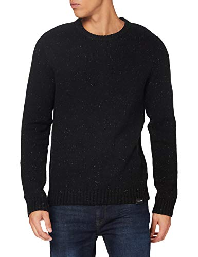 Volcom Edmonder Sweater Felpa, Uomo, Nero, XL