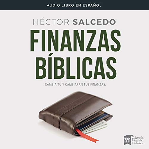 Finanzas bíblicas [Biblical Finance] Audiobook By Héctor Salcedo cover art