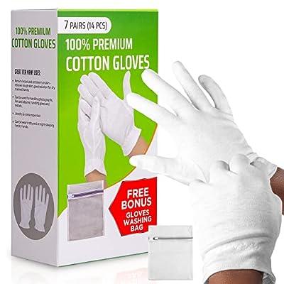 Moisturizing Gloves OverNight Bedtime Cotton