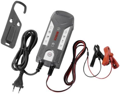 Bosch 0189999030 Microprozessor-Batterieladegerät C3, für 6 V und 12 V, mit Erhaltungsladung
