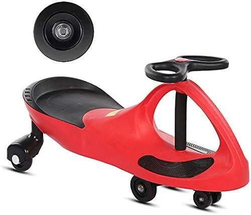 Kinder Twist Auto Baby Yo Auto Universal Rad Schaukel Auto Slide Block 1-7 Jahre Alt 80  35  41 cm (Farbe   rot)