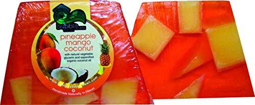 Bubble Shack Hawaii(バブルシャックハワイ) BubbleShack (バブルシャック) パイナップルチャンクソープ マンゴーココナッツ 石鹸 140g