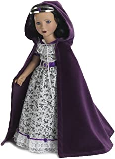 Royal Accessories Cloak and Crown for American Girl Dolls