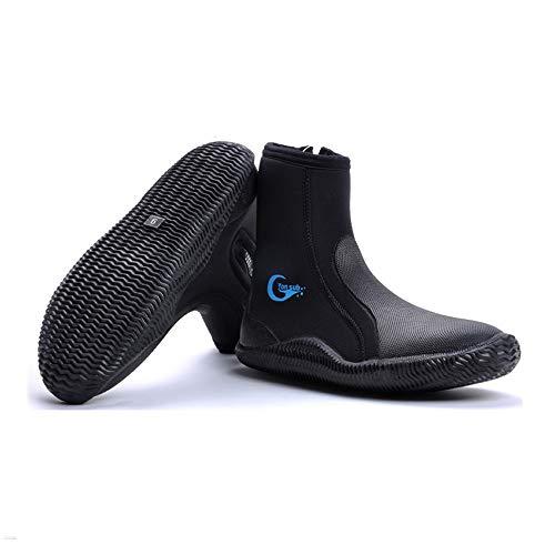 yonsub Wetsuit Booties-Surf Booties Men Women-Neoprene Shoes with Puncture...