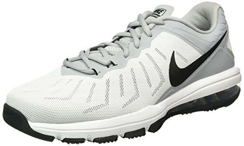 Nike Air MAX Full Ride TR, Zapatillas de Deporte Hombre, Blanco/Negro/Gris/Plata (White/Black-WLF Gry-Mtllc Slvr), 43